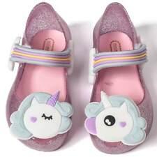Mini Melissa 2019 Unicorn Shoes New Winter Jelly Shoe Dargon Sandals dce704d85226