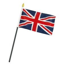 "UK United Kingdom 4""x6"" Flag Desk Table Stick"