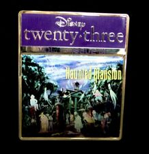 Disney Store D23 Magazine Cover Pin Vol I - Issue Iii Haunted Mansion
