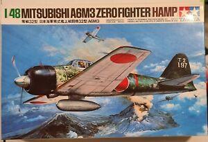 61025 Tamiya 1/48 Mitsubishi A6M3 Zero Fighter(Hamp) Model Kit