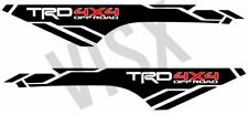 X2 TRD 4x4 off-road vinyl decals for 2013-2019 Toyota Tacoma bed side
