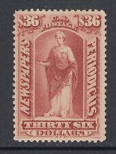 """US Sc PR77 MLH. 1879 $36 Indian red """"Commerce"""" Newspaper stamp, CERT"""