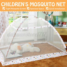 Child Mosquito Net Canopy Net Toddlers Cot Netting Mesh Tent Folding Portable
