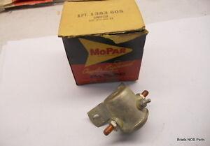 NOS Mopar 1946-1954 Plymouth Dodge  Starter Solenoid Switch 6 Volt   pn 1383605