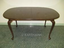 Ethan Allen Georgian Court Collection Solid Cherry Oval Dining Table 11 6094