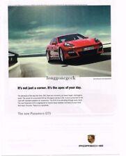 2012 PORSCHE Panamera GTS Red Advertisement