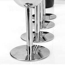 6 Pieces Stainless Steel Red Wine Glass Champagne Goblet Cup Drinking Mugs