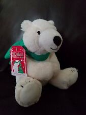 NEW BATH & BODY WORKS SNOWBALL POLAR BEAR PLUSH STUFFED ANIMAL 2014