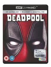 Deadpool (4K Ultra HD) Ryan Reynolds, Morena Baccarin, Gina Carano, T.J. Miller