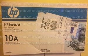 GENUINE HP Q2610A 10A TONER CARTRIDGE 2300 3090 3092 VAT INCLUDED FASTPOST