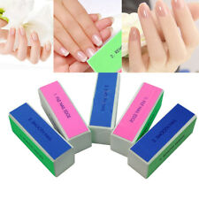 ES_ 1Pc Nail Art Shine Polished Buffer Sanding Manicure Tools Polishing Block Ne