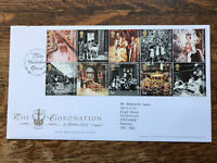 Gb First Day Cover 2003 The Coronation London Pmk