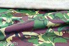 Marine Canvas Hardwearing Traspirante Impermeabile Forte Esercito Mimetico Materiale 10g