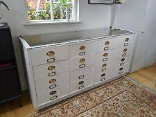 Vintage Haberdashery Shop Counter, Display Cabinet 16 Drawers