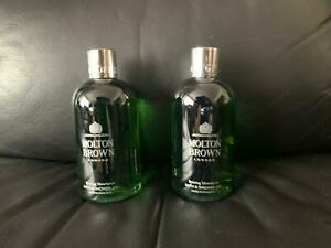 Molton Brown 2 x 300ml Bracing Silverbirch Body Wash Shower Gel NEW