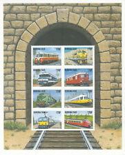 Burkina Faso # 1121-22 MNH 1998  2 Complete Sheets Railroad Trains