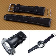 Bracelet de Montre en Cuir Noir de 22 mm pour le bracelet SUUNTO X-LANDER