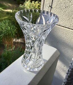 Nachtmann Kristall Vase, 18,5cm hoch