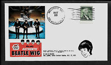 1964 Beatles Wig Featured on Limited Edition Collector's Envelope *A456