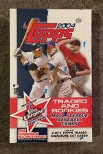 2004 Topps Traded & Rookies HOBBY Box Factory Sealed 2 chrome/pk 1 Auto or Relic