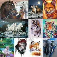Animal Full Drill DIY 5D Diamond Painting Embroidery Cross Crafts Kit Decor Art
