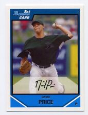 2007 Bowman Draft Picks DAVID PRICE Rookie Card RC #55 Boston Red Sox PROSPECT