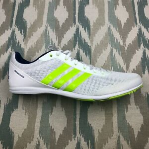 Adidas Men's Distance-star Low Top Track Running Shoes With Cleats Size 11.5 US