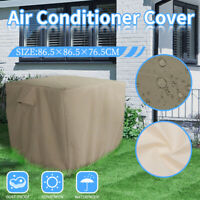 """Square Air Conditioner Cover for 34"""" Air Conditioner Waterproof Antidust Outdoor"""