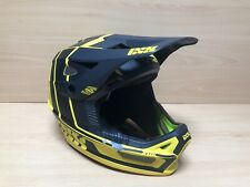Ixs xult Casco Motocross Enduro BMX MTB Amarillo Negro Talla M/L (57-59cm)