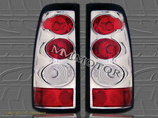 2003 2004 2005 2006 CHEVY SILVERADO GMC SIERRA TAIL LIGHTS CHROME  03 04 05 06
