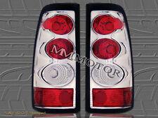 2003 2004 2005 2006 CHEVY SILVERADO GMC SIERRA TAIL LIGHTS CHROME  03 04 05 06