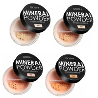GOSH Mineral Powder Medium/Full Coverage Matt Flawless Finish *Choose Shade*