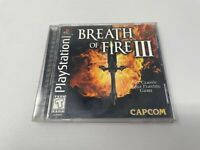 Breath of Fire III (Sony PlayStation 1, 1998), BOF 3 Complete CIB Tested