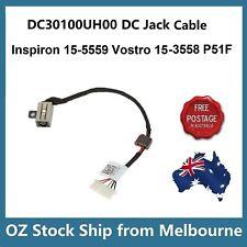 DC Power Jack For Dell Inspiron 15-5559 P51F-004 Vostro 15 (3558) w/ Wire Cord