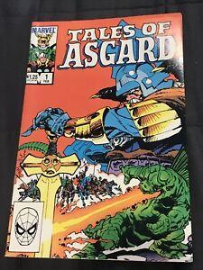 Tales Of Asgard 1984 #1 Stan Lee Jack Kirby Very Nice! Reprint