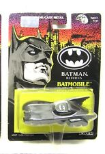 "1992 ERTL BATMAN RETURNS Die Cast 1:43 Metal BATMOBILE 3.5"" - Carded"
