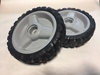 Set of 2 Husqvarna AWD OEM Lawn Mower Drive Wheels 580365301 AWD Mowers Wheel