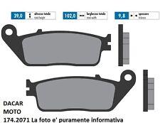 174.2071 PLAQUETTE DE FREIN SINTERED POLINI HONDA : SH 125i ABS à partir 2013->