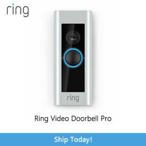 Ring Pro Video Doorbell HardWired, Work With Alexa, Two-Way Talk, Open Box