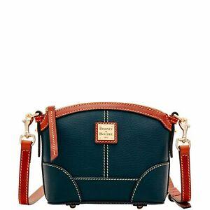 Dooney & Bourke Pebble Grain Mini Domed Crossbody Shoulder Bag