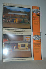 Con-Cor 9063 Fuel Rack & 9061 Fuel Depot Ho Scale Kit