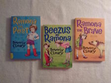 Set of 3 Ramona Series by Beverly Cleary  B06