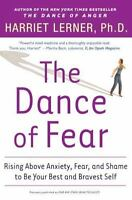 THE DANCE OF FEAR by Harriet Lerner FREE SHIPPING paperback book anxiety help
