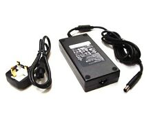 GENUINE Original DELL 180W XPS Latitude Precision AC Adapter Charger & UK Cable