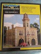 DPM HO #243-12400 Fire Station No. 3 (Building kit)
