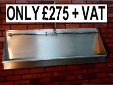BRAND NEW 5 FOOT ( 1500mm ) STAINLESS STEEL URINAL