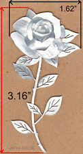 PH80# Rose Inlay in White Mother of Pearl 1.5mm thickness