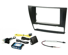 Double Din Radio Install Mounting Kit with Interface for Select 2006 - 2013 BMW