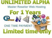UNLIMITED ALPHA Master Reseller Hosting For 1 Years *UNLIMITED* cPanel/WHM Mega