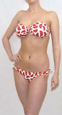 Lycra Bandeau Plus Size Bikini Sets for Women